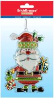 Елочная игрушка Erich Krause Decor Санта с подарочком / 47669 -