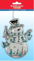 Елочная игрушка Erich Krause Decor Снеговик ледяной / 47677 -