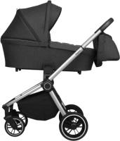 Детская универсальная коляска Baby Tilly Sigma T T-182 2 в 1 (Ink Black) -