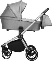 Детская универсальная коляска Baby Tilly Sigma T T-182 2 в 1 (Lunar Grey) -