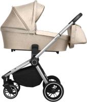 Детская универсальная коляска Baby Tilly Sigma T T-182 2 в 1 (Oat Beige) -
