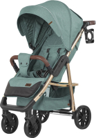 Детская прогулочная коляска Baby Tilly Eco T-166 (Emerald Green) -