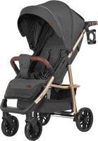 Детская прогулочная коляска Baby Tilly Eco T-166 (Midnight Gray) -