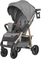 Детская прогулочная коляска Baby Tilly Eco T-166 (Rhino Gray) -