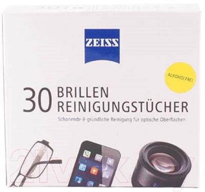 Комплект салфеток для очистки очковых линз Zeiss Универсальные чистящие