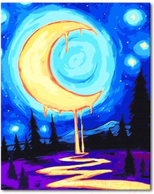 Картина по номерам Menglei Волшебная луна (VP289)