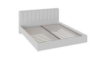 Двуспальная кровать ТриЯ Глория НМ 160x200 (белый) -