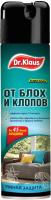 Спрей от насекомых Dr. Klaus От клопов блох и других насекомых / DK06400072 (250мл) -