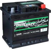 Автомобильный аккумулятор Gigawatt 552400047 (52 А/ч) -