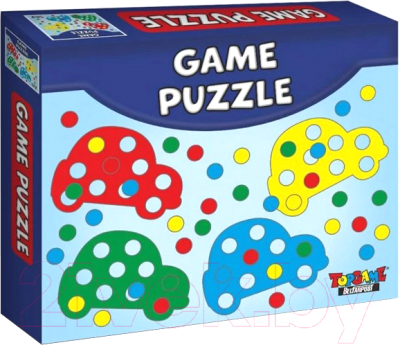Развивающая игрушка Topgame Машинки / 01573