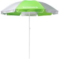 Зонт пляжный Sundays HYB1812 (зеленый/серебристый) -