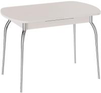 Обеденный стол ТриЯ Рио (дуб девонширский/ноги хром) -