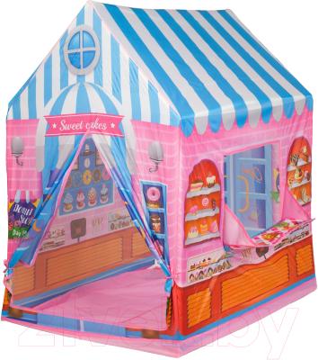 Детская игровая палатка Bondibon Веселые игры. Магазин / ВВ4480