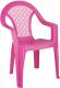 Стул детский Альтернатива Плетенка / М2605 (розовый) -