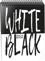 Скетчбук Попурри White Black -