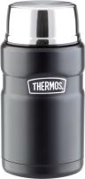 Термос для еды Thermos SK3020BK / 918093 (710мл, черный матовый) -