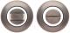 Фиксатор дверной защелки Code Deco WC-1403-GRF -