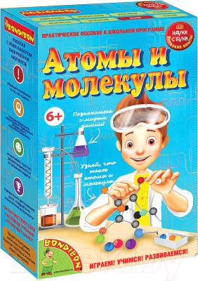 Научная игра Bondibon Японские опыты. Атомы и молекулы / ВВ1169