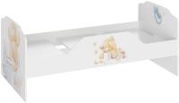 Односпальная кровать ТриЯ Тедди ТД-294.12.01 (белый с рисунком) -