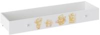 Ящик под кровать ТриЯ Тедди ТД-294.12.13 (белый с рисунком) -