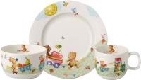 Набор столовой посуды Villeroy & Boch Hungry as a Bear / 14-8665-8428 (3пр) -