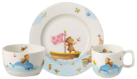 Набор столовой посуды Villeroy & Boch Happy As A Bear / 14-8664-8428 (3пр) -