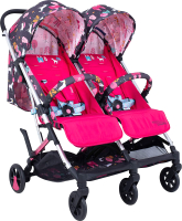 Детская прогулочная коляска Cosatto Woosh Double (Unicorn Land) -