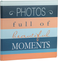 Фотоальбом Walther Moments / FA336P (бирюза) -