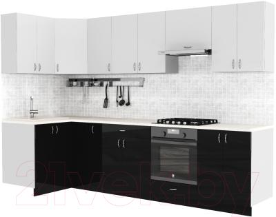 Готовая кухня S-Company Клео глосc 1.2x3.0 левая
