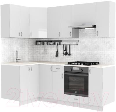 Готовая кухня S-Company Клео глосc 1.2x2.2 левая