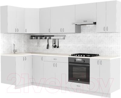 Готовая кухня S-Company Клео глосc 1.2x2.9 левая