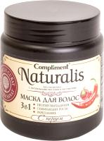 Маска для волос Compliment Naturalis с перцем 3 в 1 (500мл) -