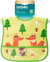 Нагрудник детский Baboo Love Story Fox / 11-603 -