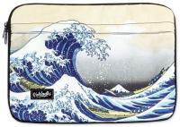 Чехол для ноутбука Vokladki Большая Волна / 54004 (M) -