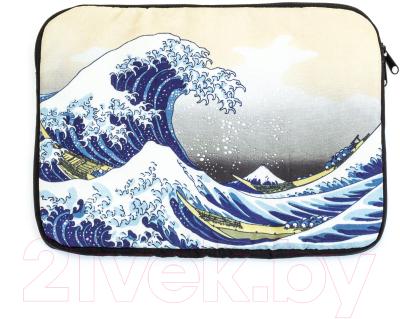 Чехол для ноутбука Vokladki Большая Волна / 54004 (M)