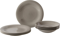 Набор тарелок Villeroy & Boch Color Loop Stone / 19-5282-8717 (8пр) -