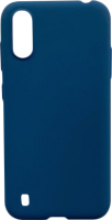 Чехол-накладка Digitalpart Silicone Case для Galaxy A01/M01 (синий) -