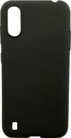 Чехол-накладка Digitalpart Silicone Case для Galaxy A01/M01 (черный) -