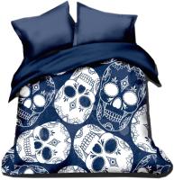 Покрывало Софтекс Цифровая печать Skull 215x160 -