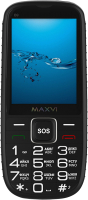 Мобильный телефон Maxvi B9 (черный) -