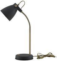 Настольная лампа ArtStyle HT-703B (черный/латунь) -