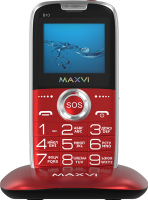 Мобильный телефон Maxvi B10 (красный) -