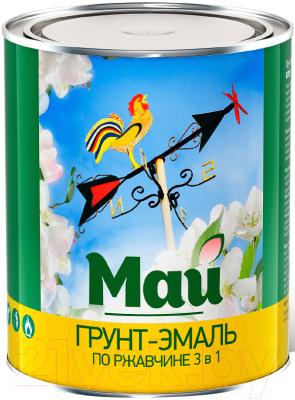 Эмаль Ярославские краски Май на ржавчину 3 в 1
