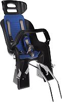 Детское велокресло SunnyWheel SW-BC-137 / Х81868 (черный/синий) -