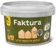 Шпатлевка Ярославские краски Faktura по дереву (0.4кг, белый) -