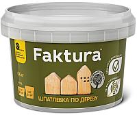 Шпатлевка Ярославские краски Faktura по дереву (0.4кг, береза) -