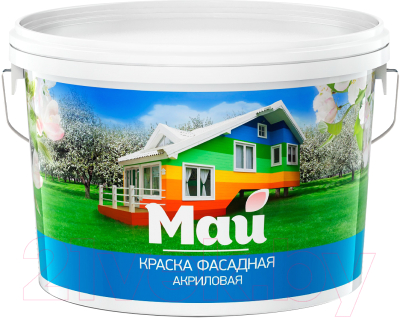 Краска Ярославские краски Май фасадная
