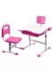 Парта+стул Rifforma Set-17 (розовый) -