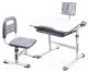 Парта+стул Rifforma Set-17 (светло-серый) -