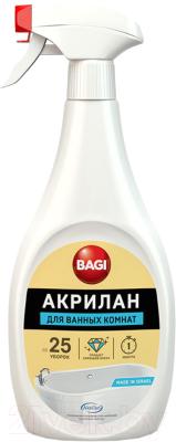 Чистящее средство для ванной комнаты Bagi Акрилан